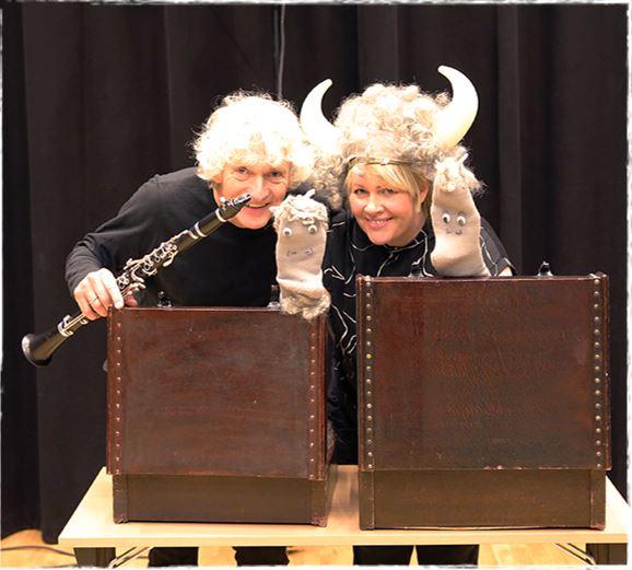 Familiekonsert «De tre bukkene bruse» -Bibliotekets aula (Fredrikstad)