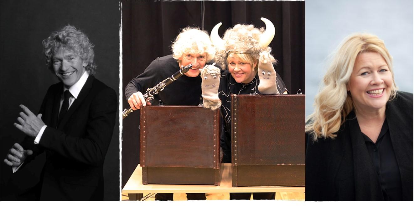 Familiekonsert «De tre bukkene bruse» -Bibliotekets aula (Fredrikstad)1